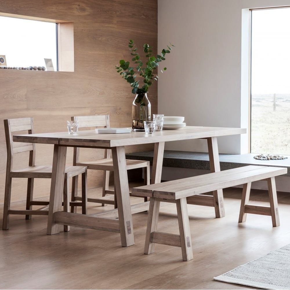 Waldorf Contemporary Oak Dining Table | Oak Dining Furniture