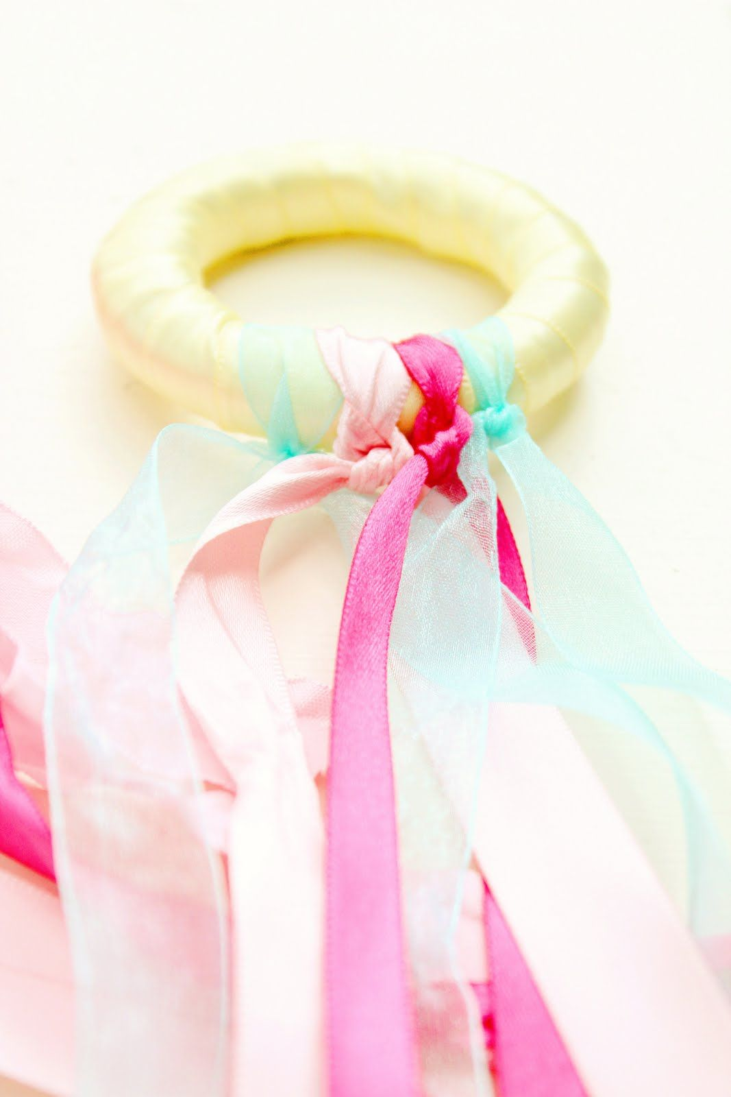 DIY Fairy Ribbon Rings