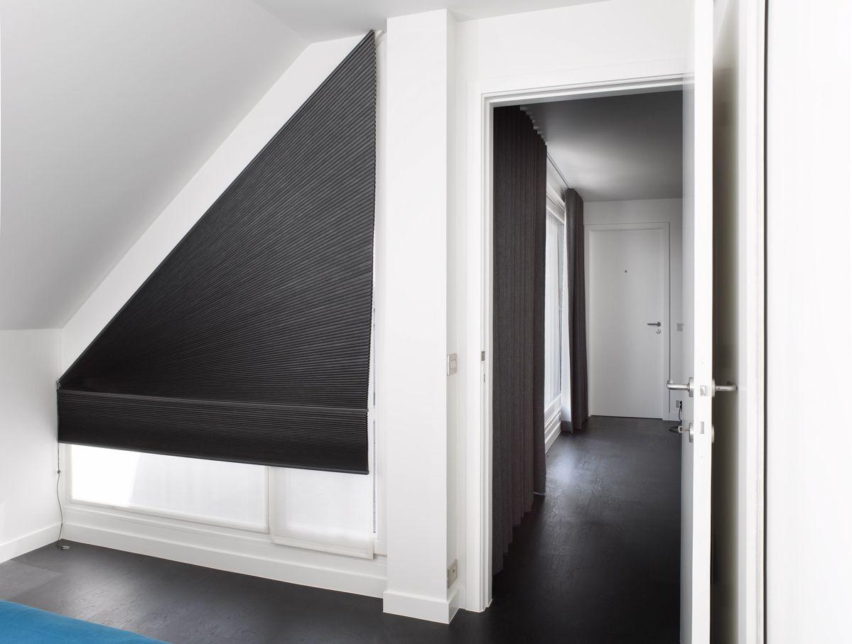 Zolderraam Gordijn 7 : Afbeeldingsresultaat voor gordijn driehoekig raam gordijnen in