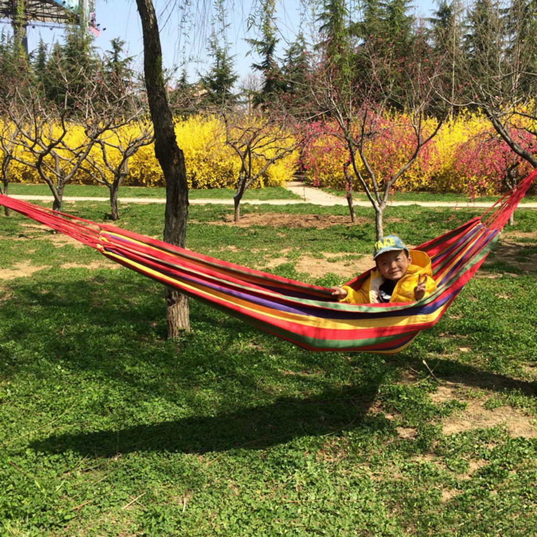 Cm portable kg loadbearing outdoor garden hammock hang