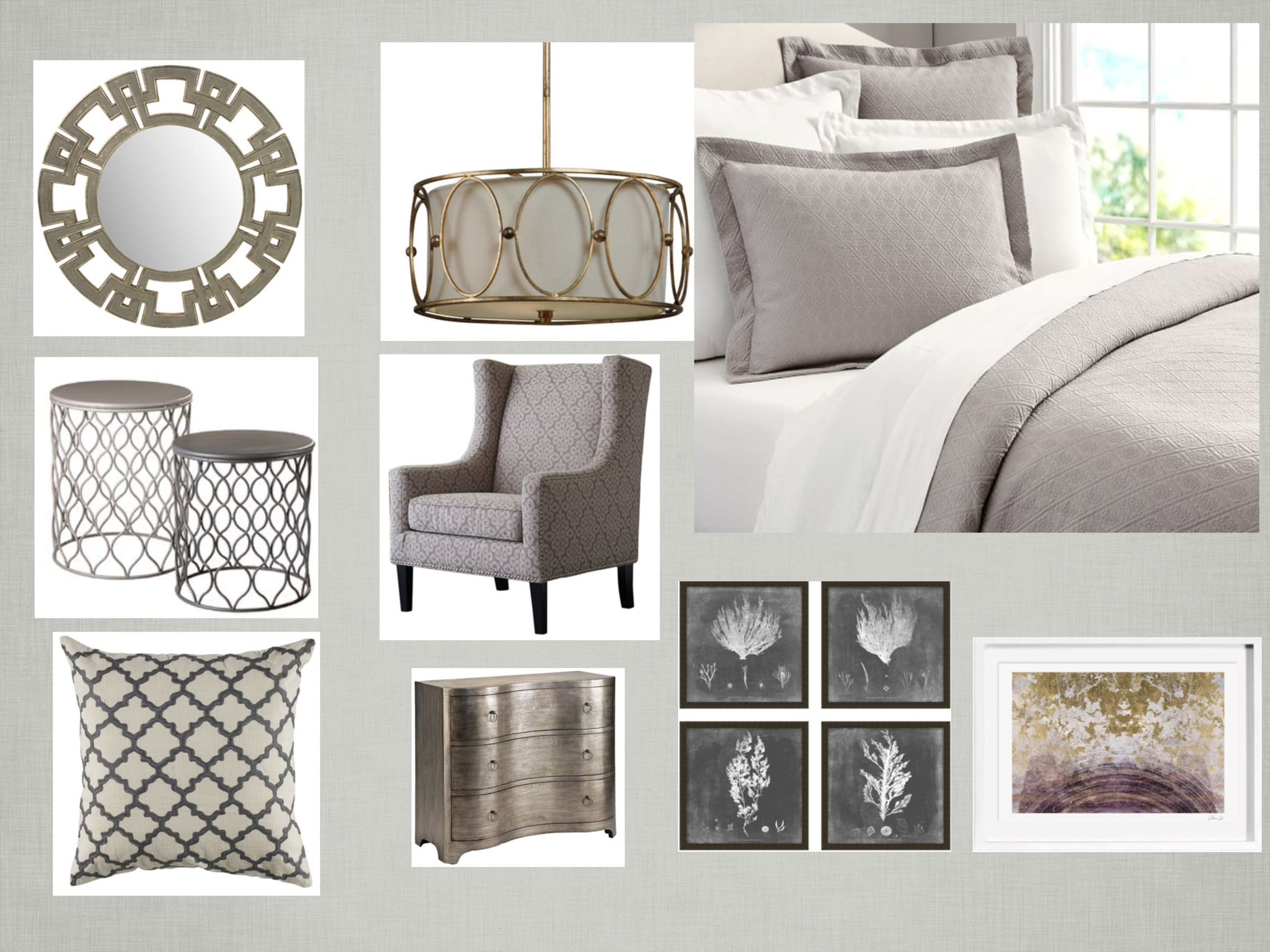 Room inspiration board by Jacqueline K