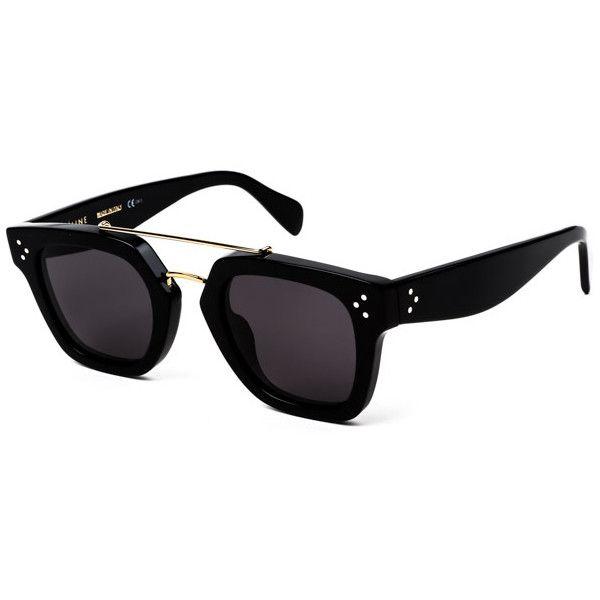 87359da4ea2 Celine CL 41077 S Bridge 807 BN Sunglasses ( 330) ❤ liked on Polyvore  featuring accessories