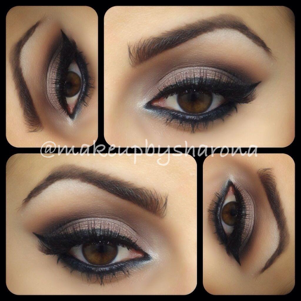 bronze/browns | eye makeup, dramatic eye makeup, smokey eye