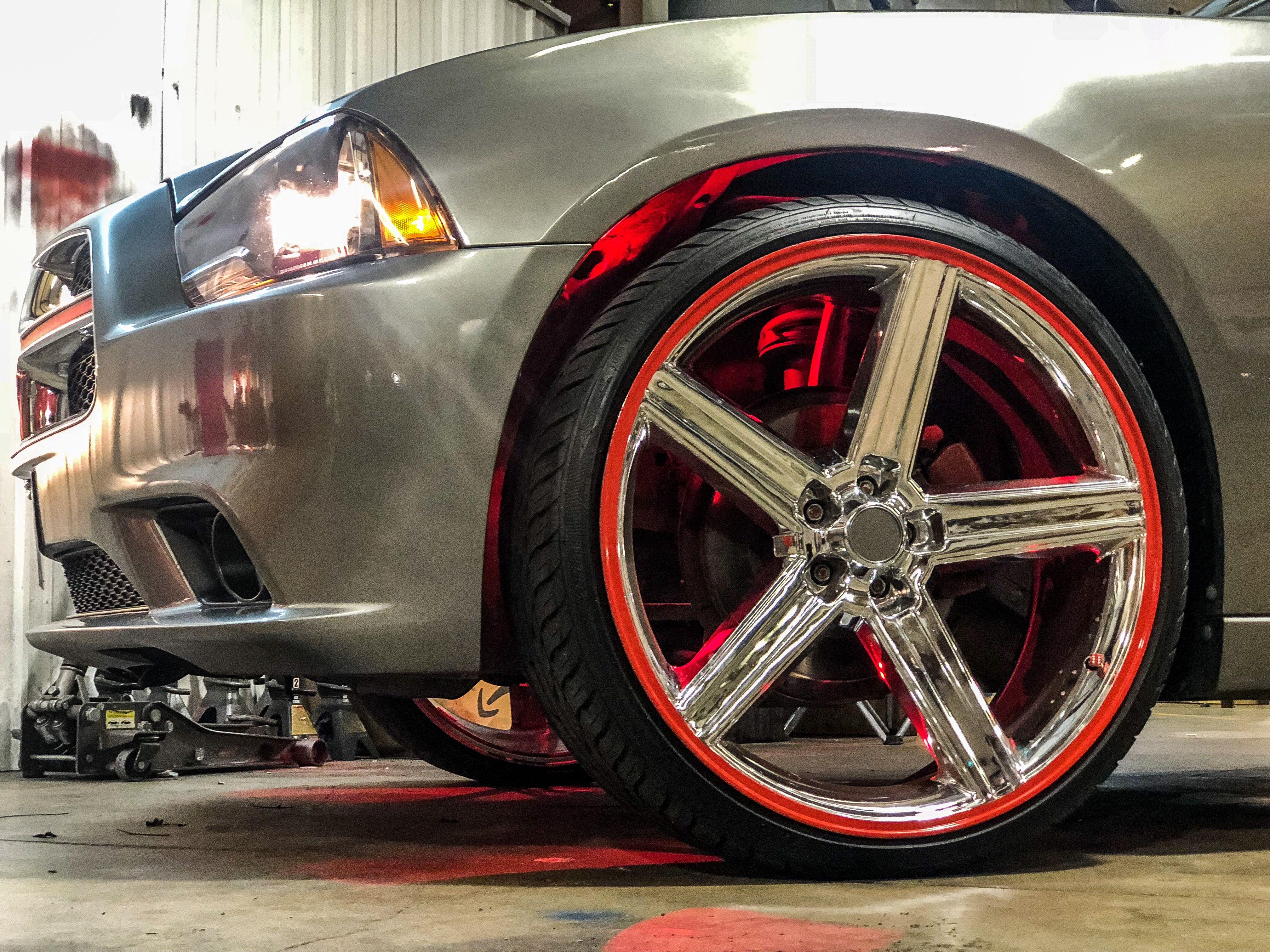 Rocklights Rims And Tires Vossen Custom Wheels