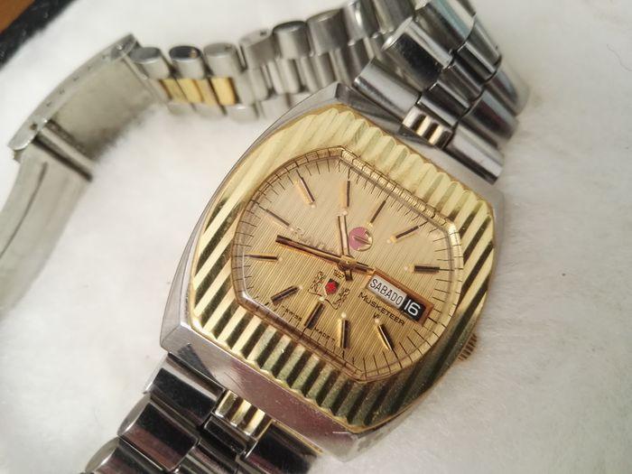 b9aa1b78d355 Catawiki pagina online de subastas Rado Musketeer VI - Reloj de pulsera  hombre…