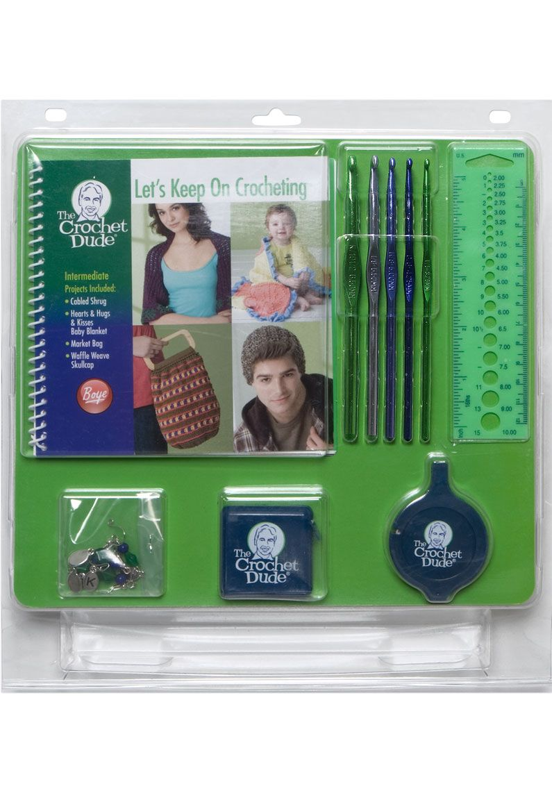 Another great kit!! Perfect if you know how to crochet but want to learn more! #thecrochetdude