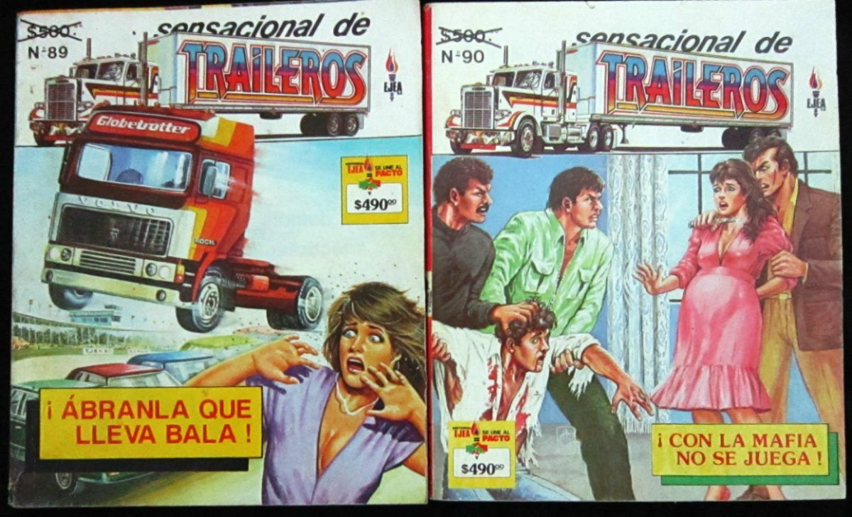 Sensacional De Traileros, Editorial Ejea, Comic.