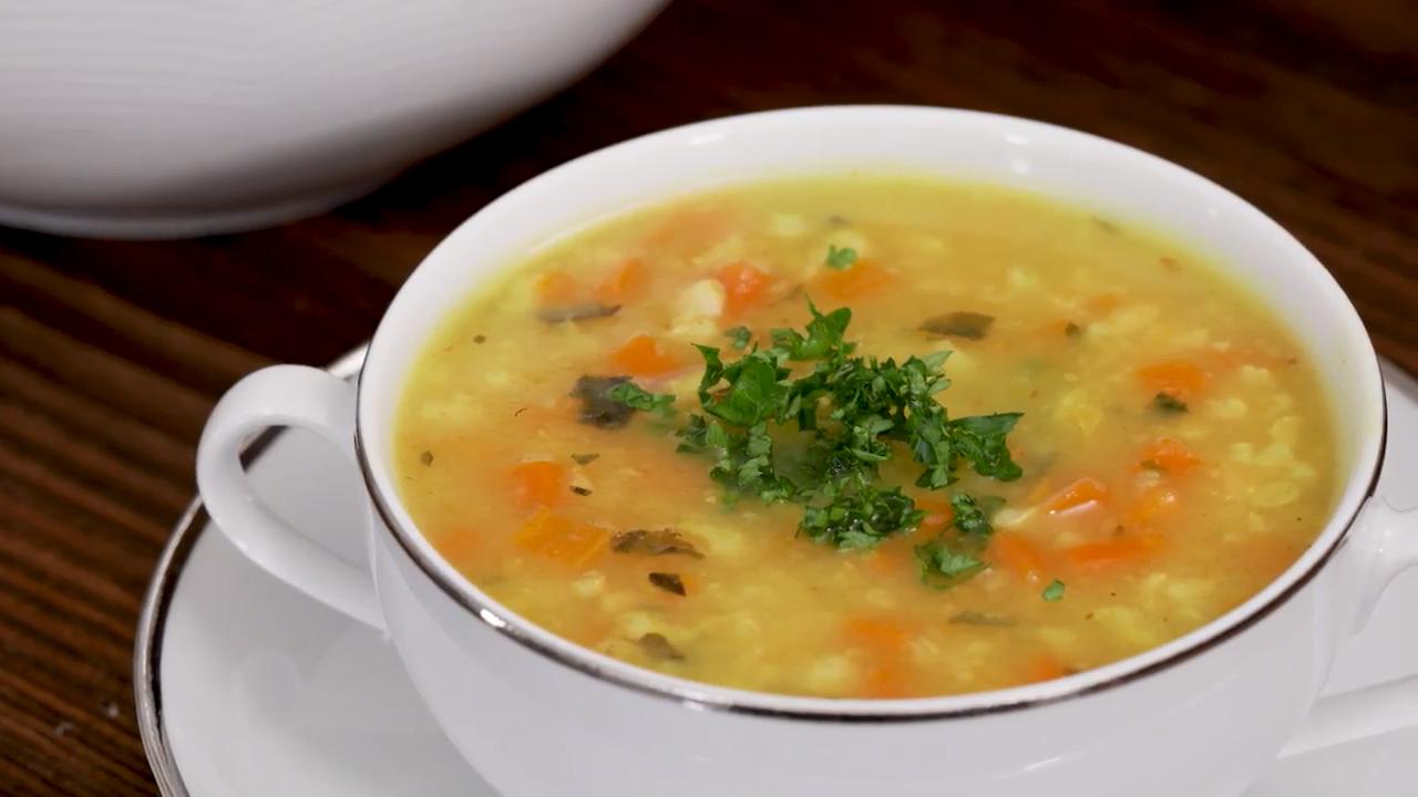 Darmaufbauende Reissuppe – mild und würzig