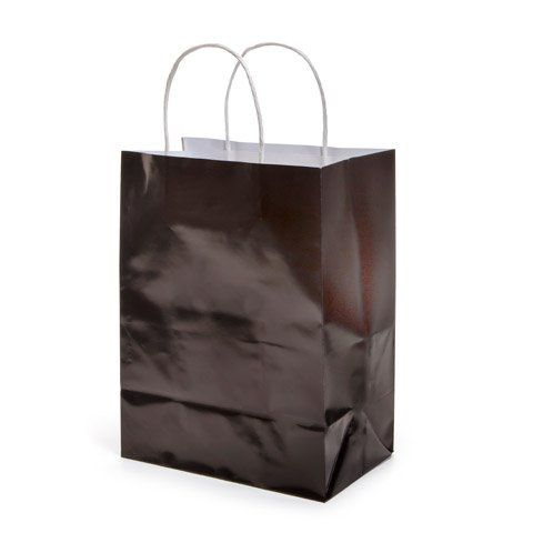 Bulk Buy Darice Diy Crafts Paper Bag With Handles Black 8 X 10 Inches 12 Pack 2607 43 Check Out The Image By Visi Paper Crafts Diy Paper Gift Bags Darice