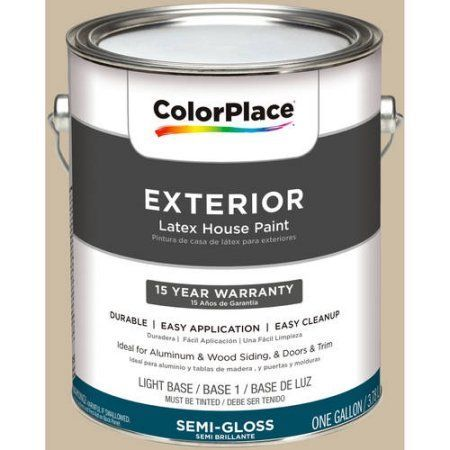 ColorPlace Exterior Paint, Mushroom Cap, #20YY 55/151, Brown