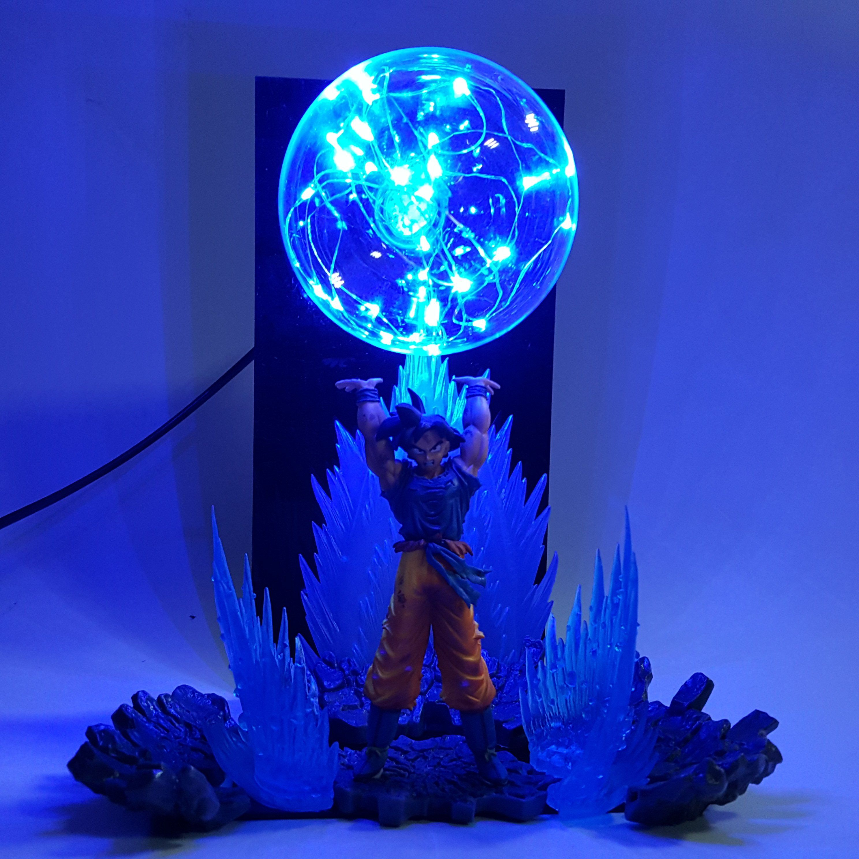 Hot Sale Dragon Ball Z Golden Shenron Crystal Ball Diy Led Set Dragon Ball Super Son Goku Dbz Led Lamp Night Lights Xmas Gift Orders Are Welcome. Led Lamps