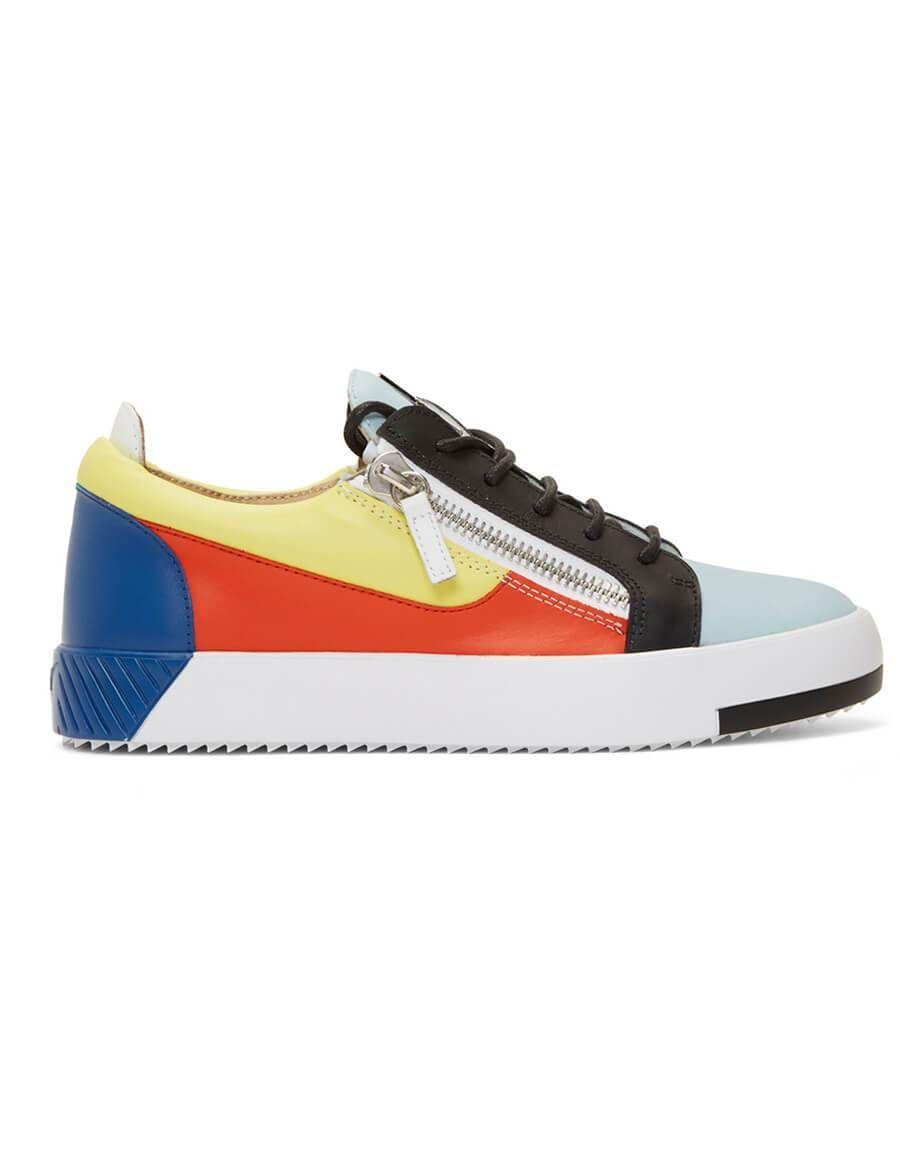 c4d4de36f7c50 h3>GIUSEPPE ZANOTTI</h3> Multicolor Frankie Sneakers in 2019 | Men ...