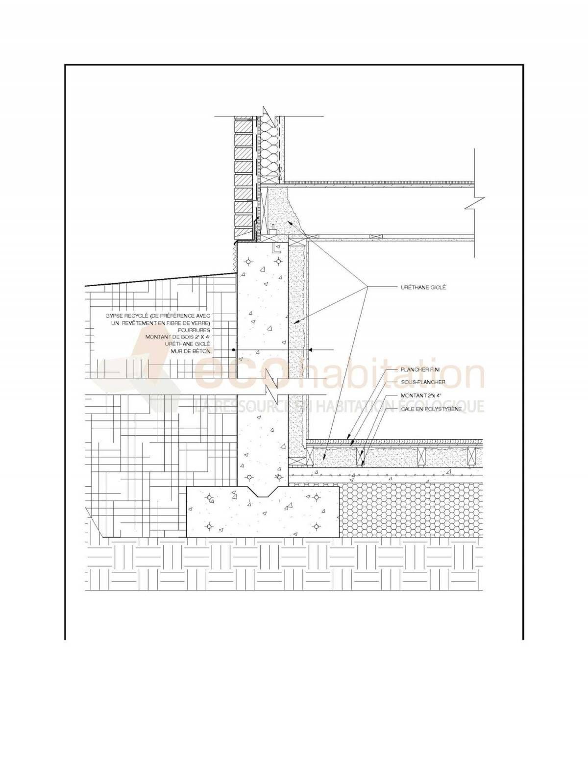 Isoler les murs de l 39 int rieur maison et r nos pinterest - Isoler une maison ancienne par l interieur ...