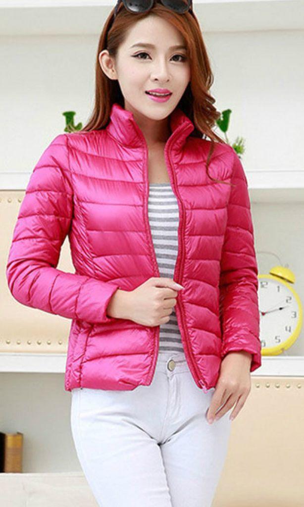 Women Lady Duck Down Ultralight Hooded Puffer Jacket Coat Outdoor Packable S-3XL