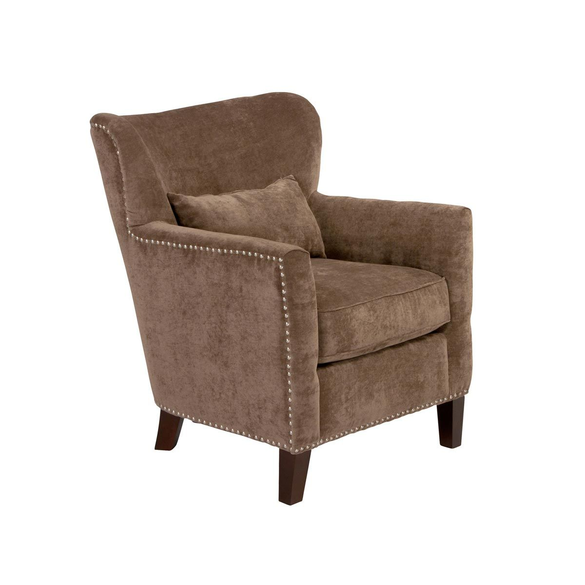Brilliant Annabelle Accent Chair In Bellagio Taupe Jeromes Gmtry Best Dining Table And Chair Ideas Images Gmtryco