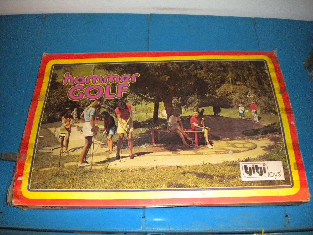 """Tjitji Toys """"Hammer Golf"""""""