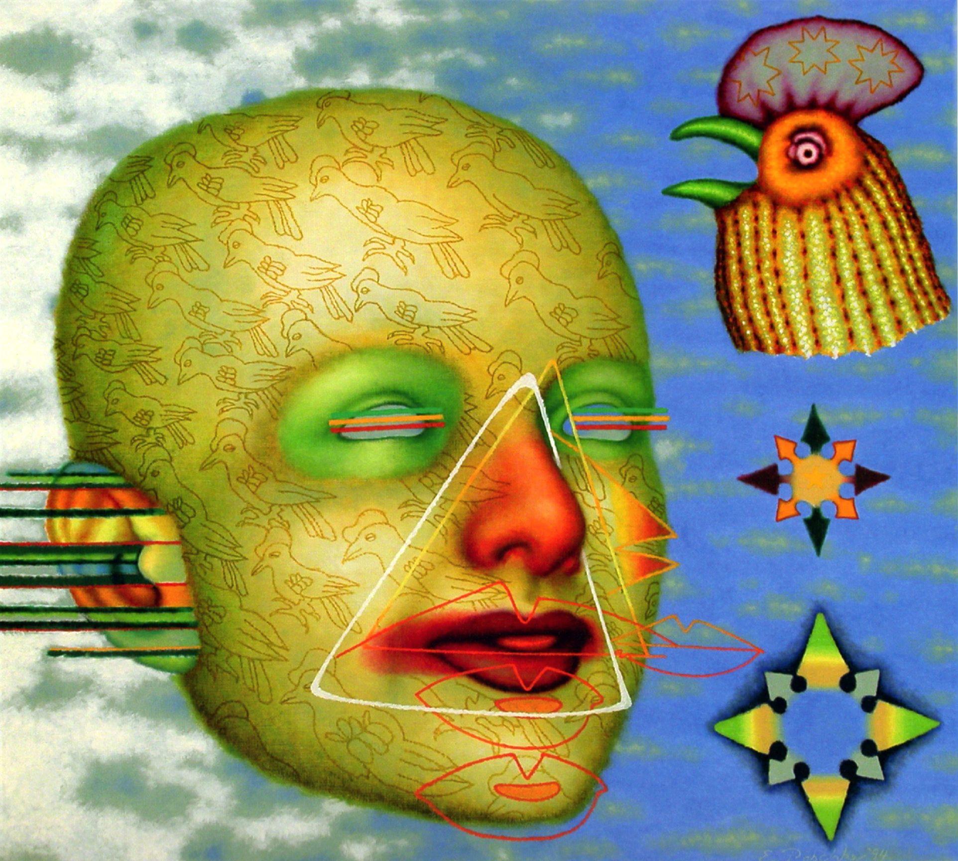Ed paschke sky blue 1994 chicago artists artist