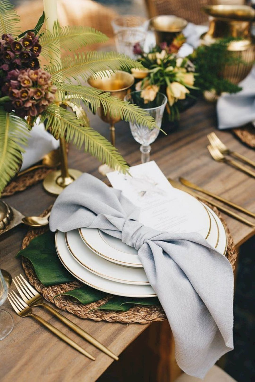 Wedding decorations to take abroad   Beautiful Natural Woodland Wedding Centerpieces Ideas  Woodland