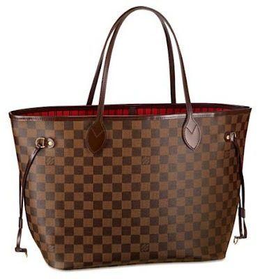 da9ce7abe Bolsa Louis Vuitton Damier Ebene Neverfull Gm Lv- if I'm ever rich one