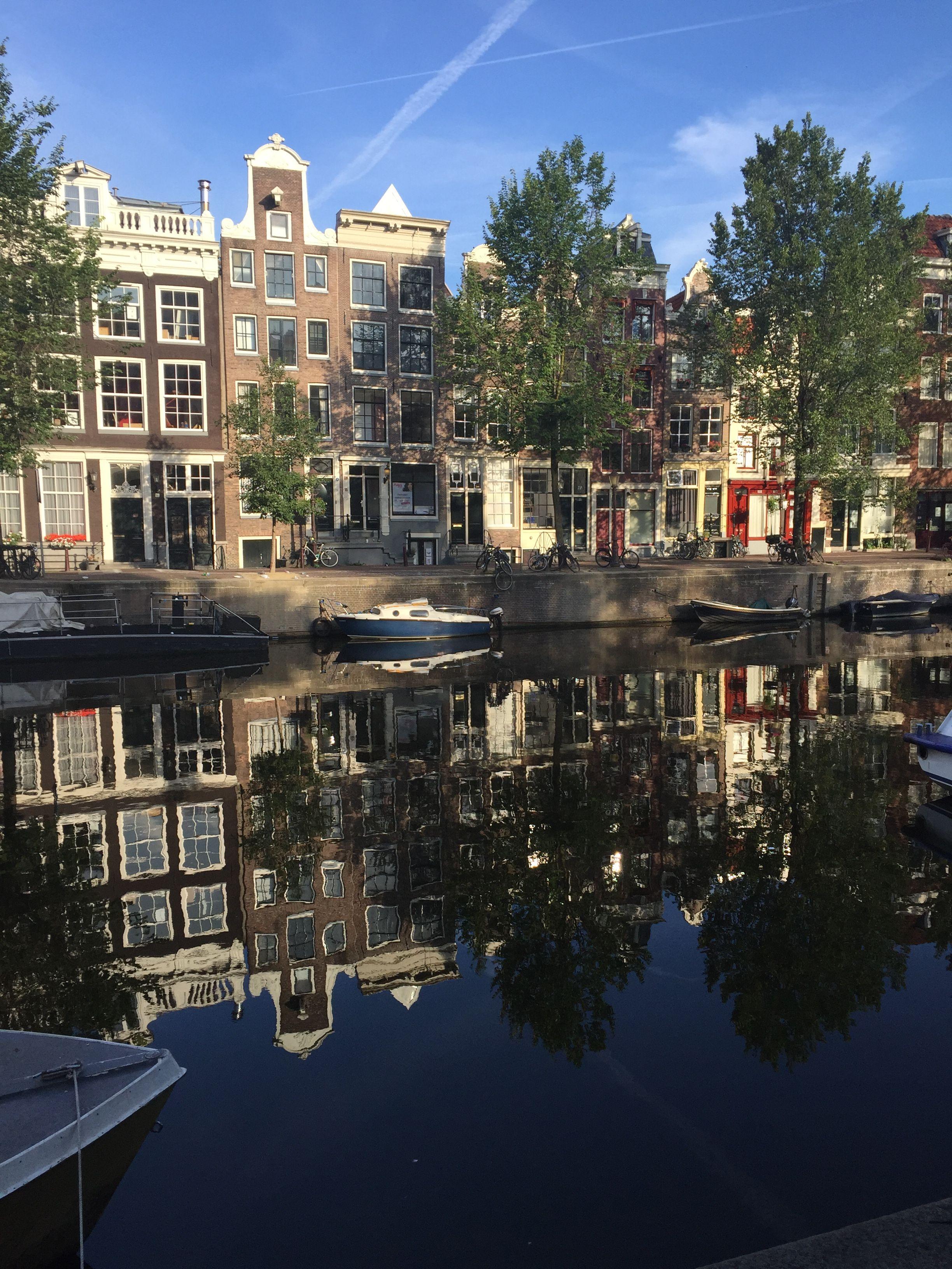 Caminando por las calles de Amsterdam /2015