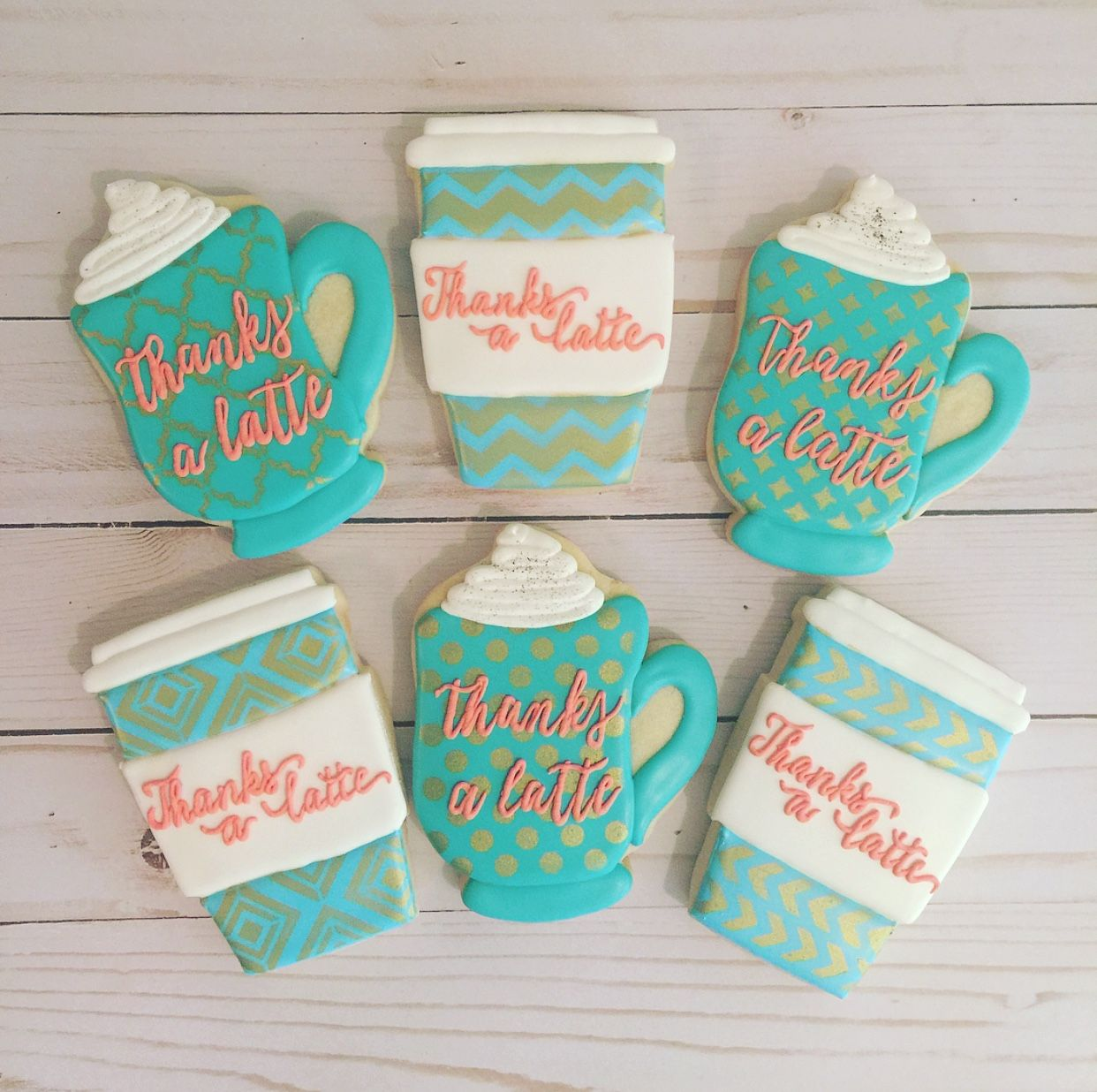 Administrative Professionals Day, Sugar Cookies, Coffee