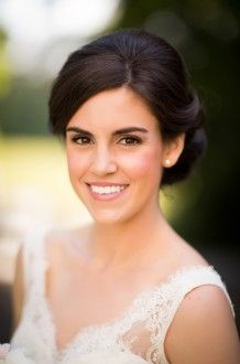 fresh makeup and classic updo | Candace Nelson Photography
