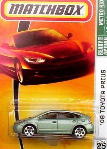 Matchbox Toyota Prius Light Metallic Green 25 Metro Rides 1