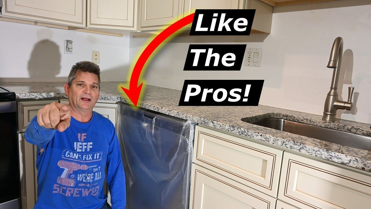 How To Install Dishwasher Like The Pros  Correct To Code