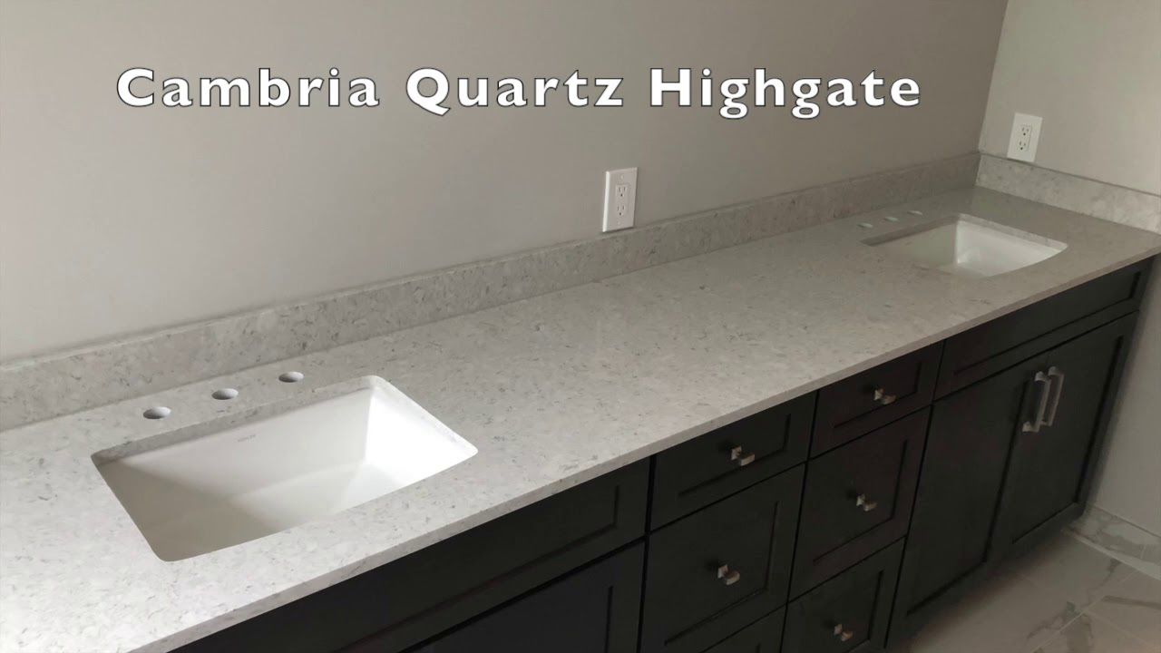 Cambria Highgate Quartz Countertops Installer Youtube Quartz