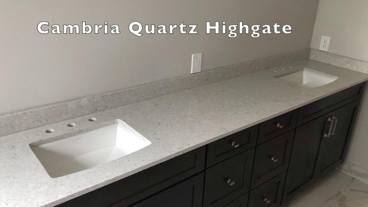 Cambria Highgate Quartz Countertops Installer Youtube Quartz