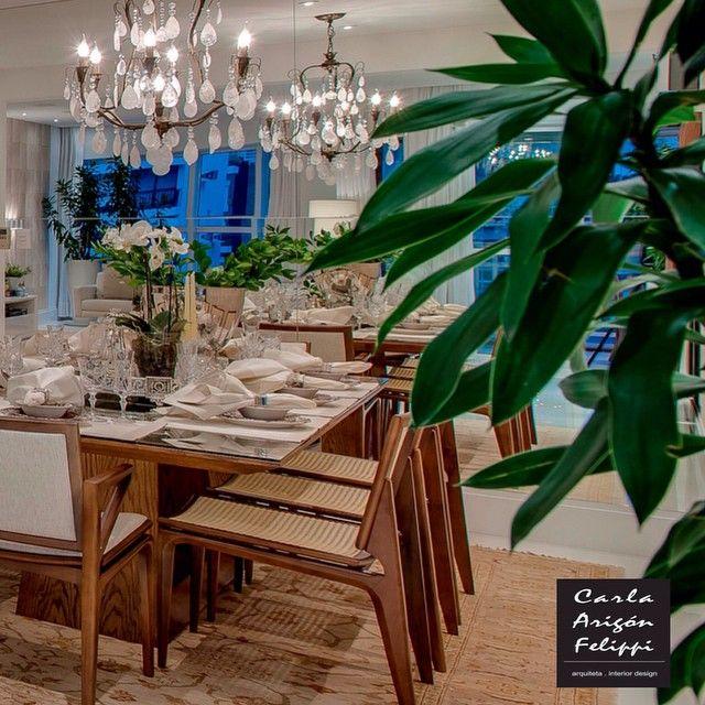 Apartamento Gonzaga Santos | projeto @carlafelippi_arquiteta #arquitetura #design #decor #living #interiordesign #carlafelippi