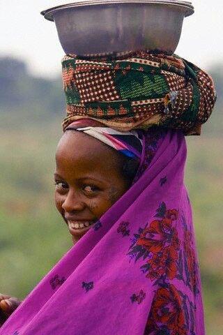Femme  peul du Bénin