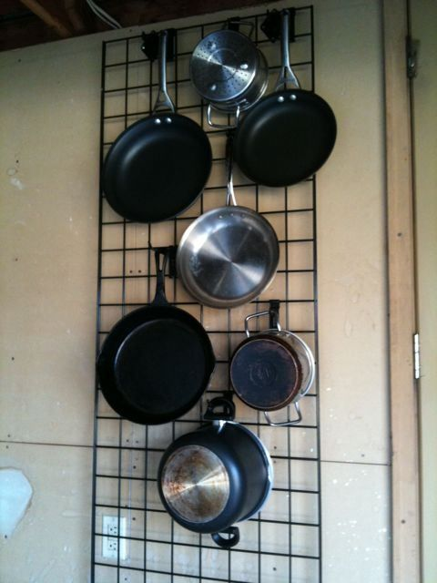 Kitchen Wall Grid Check The O Jays Pots And Design