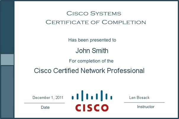 Gain the Cisco Certified Network Professional (CCNP) Certification ...