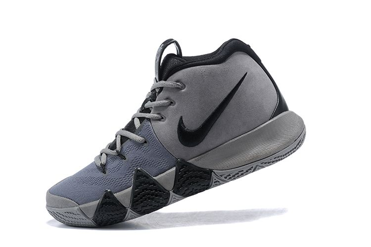 promo code b9436 4e9b9 2019 的 2018 Nike Kyrie 4 Wolf Grey/Black For Sale | Air ...