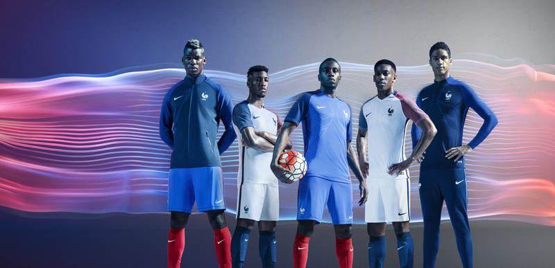 Nike Dévoile Le Nouveau Maillot De L'équipe De France Pour L