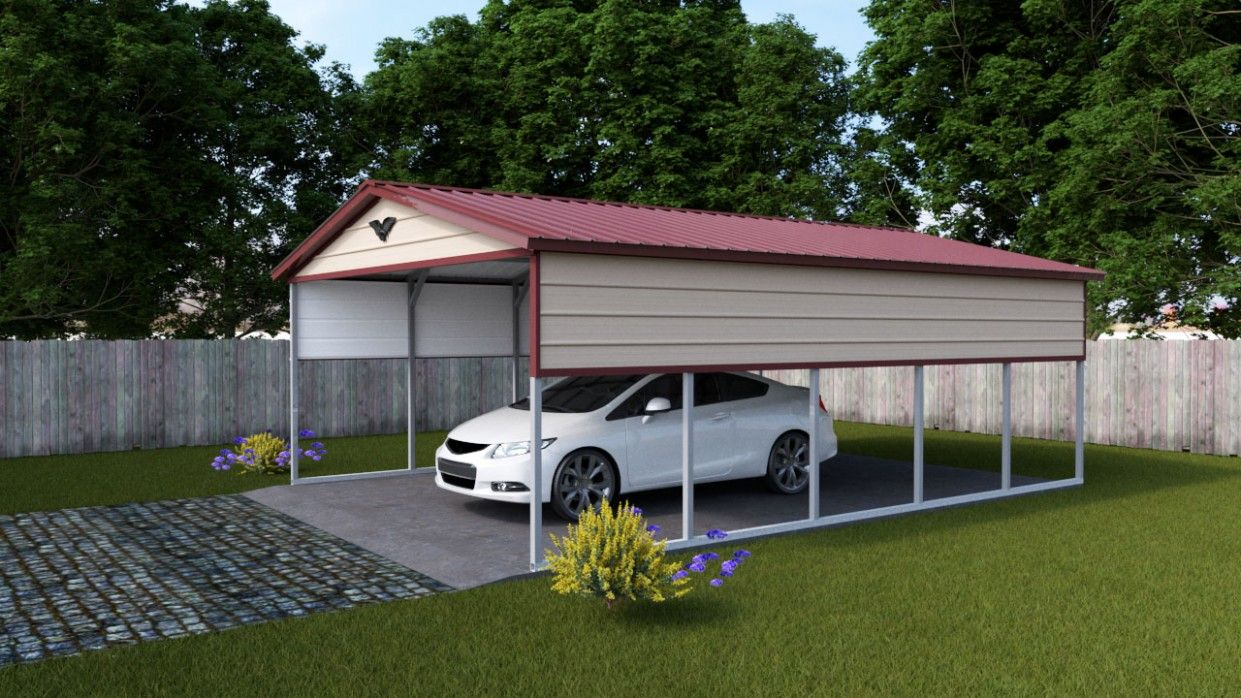 Best Vertical Roof Carport Di 2020 400 x 300