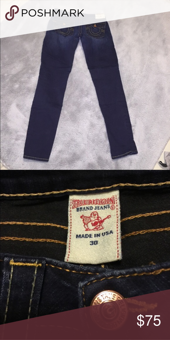 "True Religion Skinny Jeans True Religion Skinny Jeans - 29"" Inseam - Excellent Condition! True Religion Jeans"