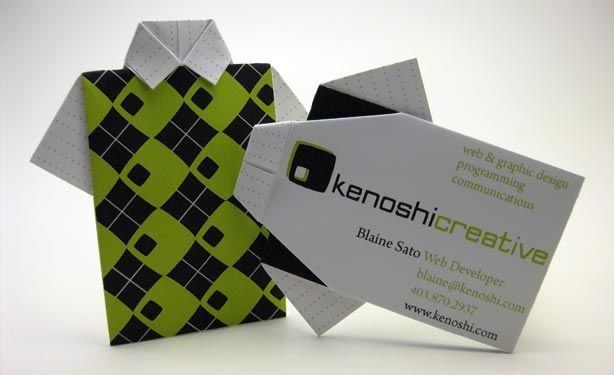 20 creative business cards origami business cards and business 20 creative business cards reheart Gallery
