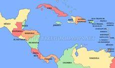 Mapa político América Central | Mapas políticos | Pinterest