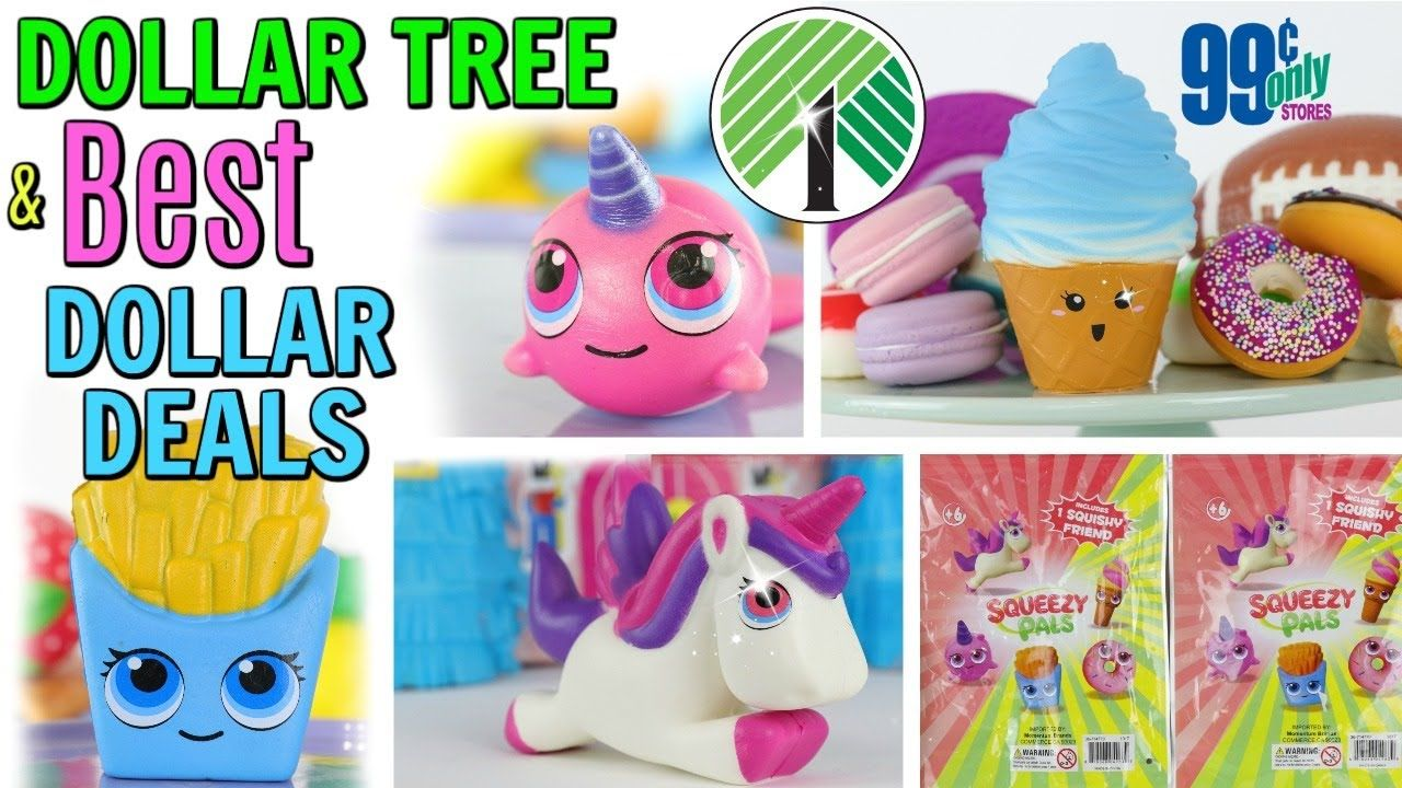 DOLLAR TREE SQUISHY HAUL AND MORE BEST DEALS PART 2