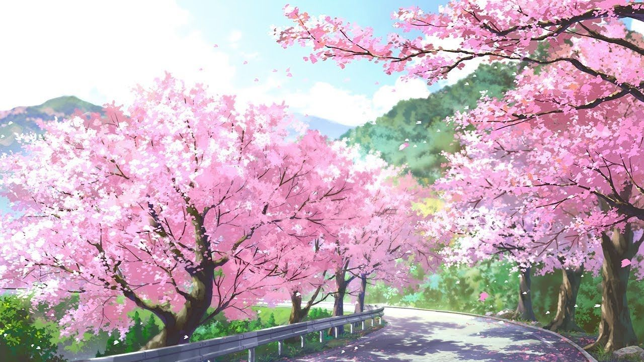 Beautiful Japanese Piano Music Relaxing Music For Sleeping And Studying Anime Scenery Anime Backgrounds Wallpapers Spring Scenery