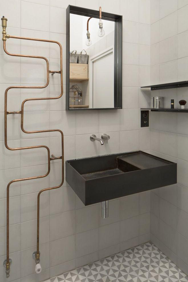 Tuyaux De Cuivre Design En 2018 Diy Fait Maison Home Made