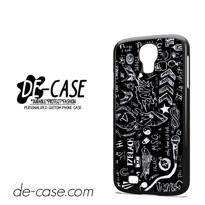 5SOS Tatoos Black DEAL-152 Samsung Phonecase Cover For Samsung Galaxy S4 / S4 Mini