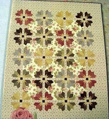 Hay que hacerlo this is very unique quilts for Blackbird designs english garden