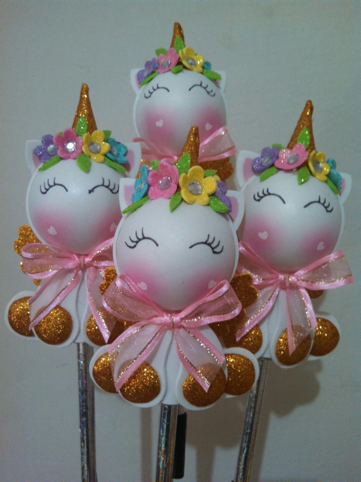 405687b57 Fofupluma unicornio Manualidades Unicornio, Manualidades Para Fiestas,  Manualidades Hermosas, Manualidades Con Goma Eva