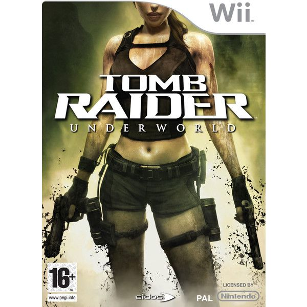 Pwned.com - Tomb Raider: Underworld on Nintendo Wii - Tomb Raider:... ❤ liked on Polyvore featuring electronics and games