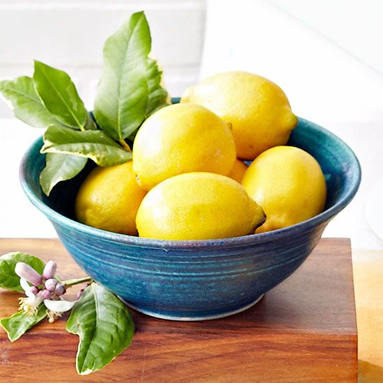 Next time you have a blemish, try putting fresh lemon on it--and yes, you read that right. See more skin tricks here: http://www.bhg.com/beauty-fashion/skin-care/10-dry-skin-fixes-from-your-kitchen-/?socsrc=bhgpin041715lemonskincare&page=4