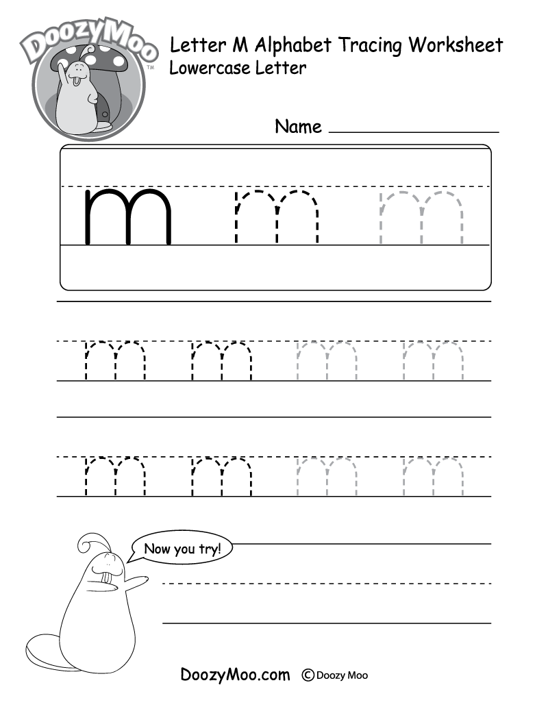 Lowercase Letter M Tracing Worksheet Tracing Worksheets Tracing Worksheets Free Tracing Letters [ 1035 x 800 Pixel ]