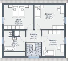 weberhaus fertighaus holzbauweise grundriss obergeschoss schlafzimmer bad tl sung. Black Bedroom Furniture Sets. Home Design Ideas